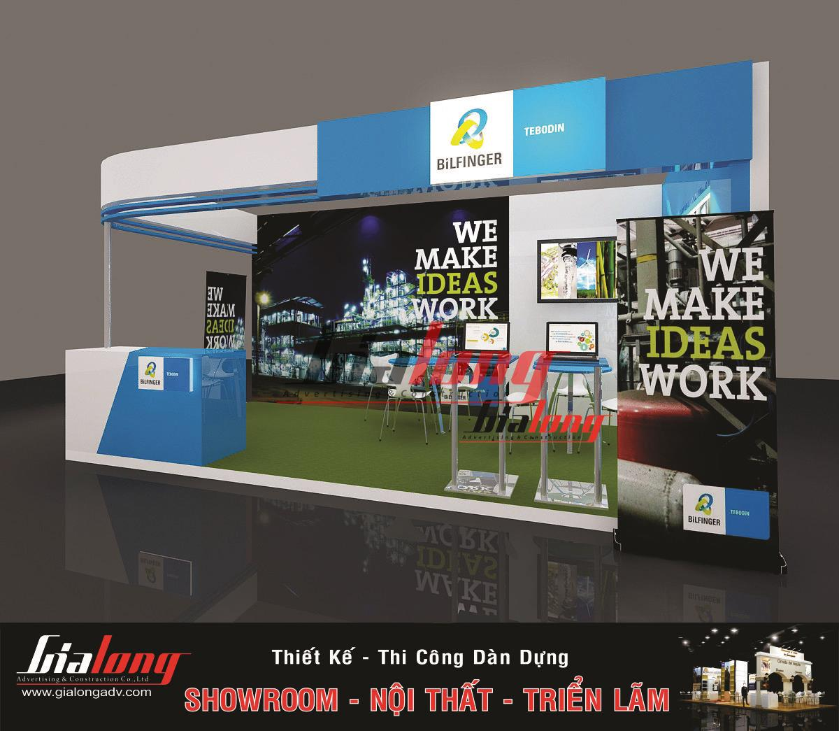 Exhibition Booth Requirements : Requirements to consider when exhibition booth design in