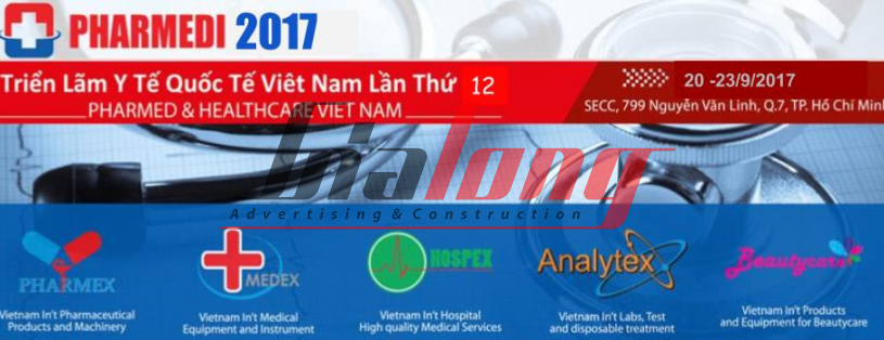 Pharmed & Healthcare Vietnam 2017